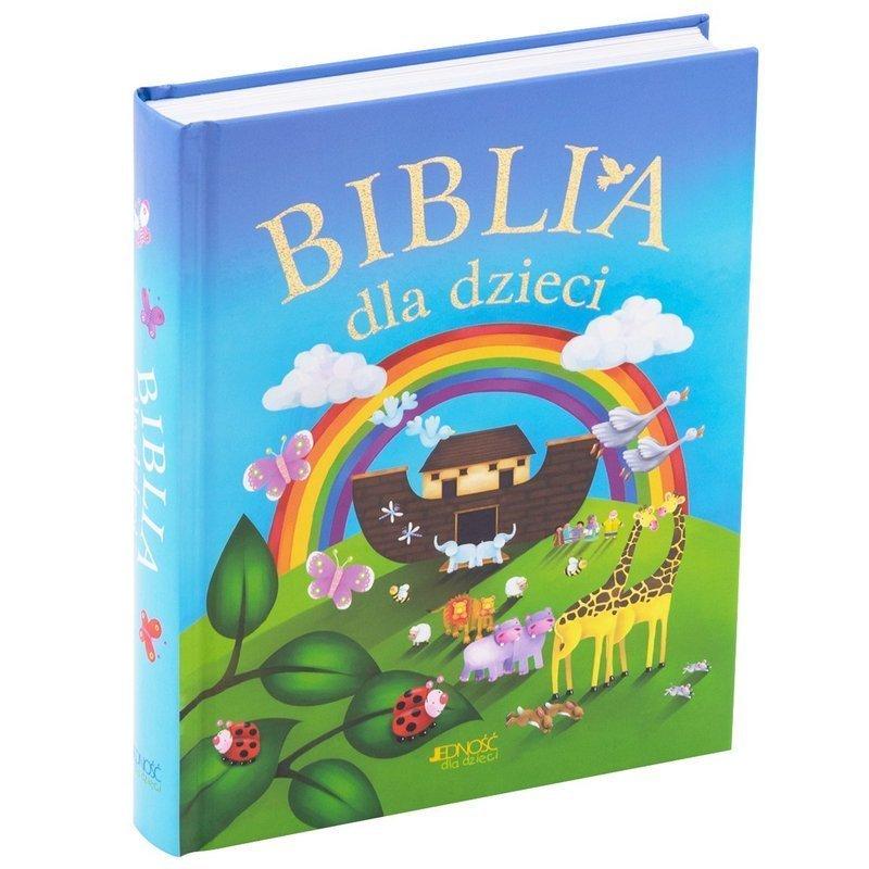Biblia dla Dzieci. Pamiątka na Chrzest Komunię