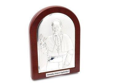 Obrazek Papież Franciszek komunia z GRAWEREM 12x16