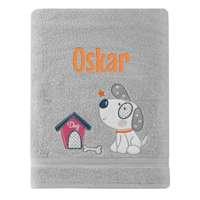 Azorek Ręcznik Baby Prezent z Haftem