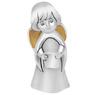 Figurka aniołka posrebrzana ze zwojem