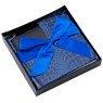 Pudełko na prezent granat niebieski wzór S 3