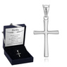 Srebrny krzyżyk / na I Komunię Św./ dla mężczyzny / dla kobiety / pr. 925 1