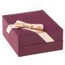 Złoty Naszyjnik koniczynka Celebrytka pr. 585 (14 K) GRAWER różowa kokardka 7