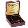 Złoty komplet naszyjnik i bransoletka pr. 585 nieskończoność z blaszką GRAWER 2